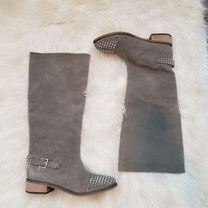 Kelsi Dagger Leather Riding Boots Size 8.5